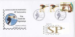 Portugal 2010 Madeira Açucar Lions Clube Portimão Farol Esperança Phare Lighthouse Leuchtturm Algarve Faro Sugar Birds - Postmark Collection