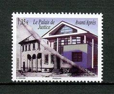 SPM MIQUELON 2014 N° 1111 ** Neuf MNH Superbe Palais De Justice Avant Après - St.Pierre Et Miquelon