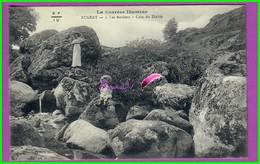 CPA  (19 Corrèze)  - BUGEAT - 3. Les Rochers - Coin Du Diable - Cascade Jeune Fille Et Sa Mère Animé - France