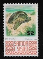 SAMOA - 1973: Valore Nuovo S.t.l. Da 2 D. Serie Ordinaria - TARTARUGA DI MARE - In Ottime Condizioni. - Samoa