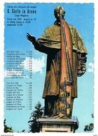 ARONA (NO):  S. CARLO  -  PER  LA  SVIZZERA  -  FG - Monumenti