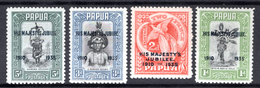 1935 - PAPUA - Mi. Nr.  99/102 -  LH  - (K-EA-361388.5) - Papouasie-Nouvelle-Guinée