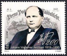 Estonia Estland Estonie 2019 (12) Johann Voldemar Jannsen 200 - Estonia