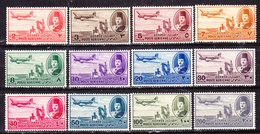 Egitto 1947--Posta Aerea Serie Completa Nuova MLLH - Egitto