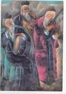 Reuven Rubin: Jiddische Musikanten, Unused Postcard [23275] - Paintings