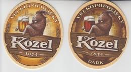 CZECHIA VELKOPOPOVICKY KOZEL BEER MAT - Sous-bocks