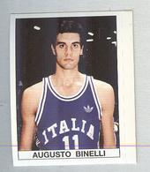 AUGUSTO BINELLI....BASKETBALL...PALLACANESTRO..VOLLEY BALL...BASKET - Tarjetas