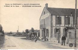 89-SAINT FLORENTIN-HOTEL DE LA GARE KLEINDRE GUINGAND-N°R2049-C/0045 - Saint Florentin