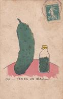 CPA Illustrée Oui T'en Es Un Beau ... Cornichon ! HUMOUR - Illustrateurs & Photographes