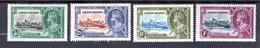 1935 - CAYMAN ISOLE - Mi. Nr.  82/85 -  LH  - (K-EA-361388.5) - Cayman (Isole)