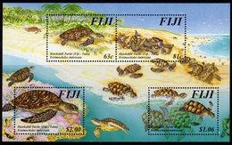 Fiji 1997 Hawksbill Turtle MS, MNH, SG 981 (BP2) - Fiji (1970-...)
