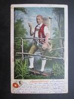 CP SUISSE (V1911) APPENZELLERTRACHT (2 VUES) 1904 - Suisse