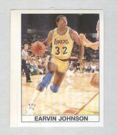 EARVIN JOHNSON.....BASKETBALL...PALLACANESTRO..VOLLEY BALL...BASKET - Trading Cards