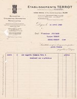 21-Ets Terrot..Bicyclettes-Cyclorettes-Motorettes-Motocyclettes. Dijon  (Côte-d'Or)..1925 - Transport