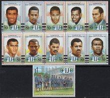 Fiji 1997 Rugby Sevens Victory Set Of 11, MNH, SG 991/1001 (BP2) - Fiji (1970-...)