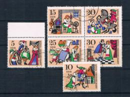 DDR 1967 Märchen Mi.Nr. 1323/28 Kpl. Satz Gest. - DDR