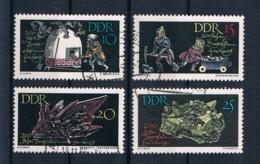 DDR 1965 Bergbau Mi.Nr. 1142/45 Kpl. Satz Gest. - DDR