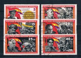 DDR 1966 Brigarden Mi.Nr. 1196/201 Kpl. Satz Gest. - [6] República Democrática