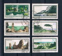DDR 1966 Natur Mi.Nr. 1179/84 Kpl. Satz Gest. - [6] República Democrática