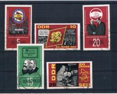 DDR 1966 SED Mi.Nr. 1173/77 Kpl. Satz Gest. - [6] República Democrática