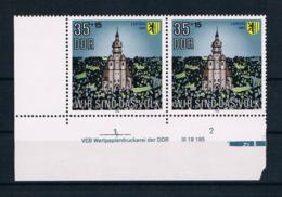 DDR 1990 Kirche Mi.Nr. 3315 Ecke ** - [6] République Démocratique