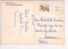 U4500 Postcard 1980 With Nice Stamp LISBOA. PADRAO DOS DESCOBRIMENTOS _ Ed Coleccao DULIA - Lisboa