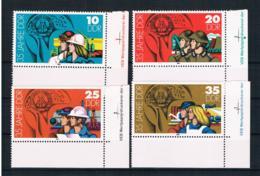 DDR 1984 35 Jahre DDR Mi.Nr. 2898/901kpl. Satz Ecke ** - Neufs