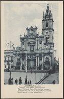 Collegiata San Pietro, Acireale, C.1910s - Grand Hôtel Des Bains Cartolina - Acireale