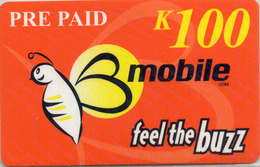 Papua New Guinea Pre Paid Mobile K100 Feel The Buzz - Papua New Guinea
