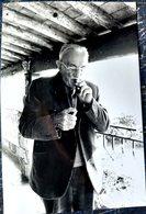 CHARLES VANEL CINEMA ACTEUR VEDETTE THEATRE CINEMA SPECTACLE PHOTOGRAPHIE ORIGINALE  27 X 17 CM 1981 - Célébrités