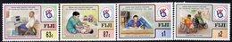 Fiji 1998 Decade Of Disabled People Set Of 4, MNH, SG 1010/3 (BP2) - Fiji (1970-...)