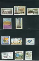 COSTA DE MARFIL (IVORY COAST), 1976/78/80/82/89/90 LOT OF STAMPS   MNH - Costa De Marfil (1960-...)