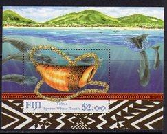 Fiji 1998 Sperm Whale Tooth MS, MNH, SG 1025 (BP2) - Fiji (1970-...)