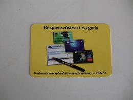 Bank Banque Banco Powszechny Bank Kredytowy SA W Warszawie Poland Pocket Calendar 1999 - Calendari