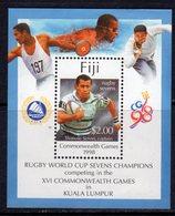 Fiji 1998 Commonwealth Games MS, MNH, SG 1030 (BP2) - Fiji (1970-...)