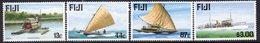 Fiji 1998 Maritime Past & Present I Ships Set Of 4, MNH, SG 1031/4 (BP2) - Fiji (1970-...)