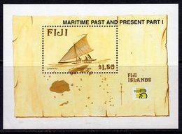 Fiji 1998 Maritime Past & Present I Ships MS, MNH, SG 1035 (BP2) - Fiji (1970-...)