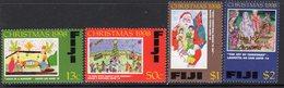 Fiji 1998 Christmas Set Of 4, MNH, SG 1036/9 (BP2) - Fiji (1970-...)