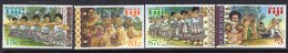 Fiji 1999 Traditional Dances Set Of 4, MNH, SG 1040/3 (BP2) - Fiji (1970-...)
