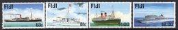Fiji 1999 Maritime Past & Present II Ships Set Of 4, MNH, SG 1044/7 (BP2) - Fiji (1970-...)