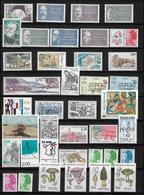 France Année 1987 Complète N°2452 A 2500 Neufs ** (n°2461 Oblitéré) - 1980-1989