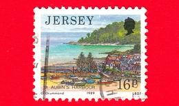 JERSEY - Usato - 1989 - Paesaggi - Vedute - St. Aubin's Harbor - 16 - Jersey