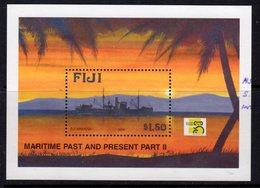 Fiji 1999 Maritime Past & Present II Ships MS, MNH, SG 1048 (BP2) - Fiji (1970-...)