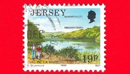 JERSEY - Usato - 1989 - Paesaggi - Vedute - Val De La Mare - 19 - Jersey