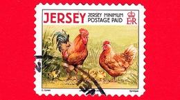 JERSEY - Usato - 2008 - Animali Della Fattoria - Galli E Galline - Chickens (Gallus Gallus Domesticus) - Minimum - Jersey