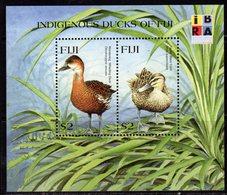 Fiji 1999 IBRA '99 Exhibition Ducks MS, MNH, SG 1049 (BP2) - Fiji (1970-...)