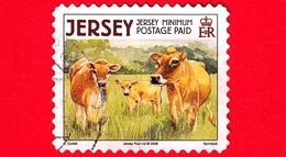 JERSEY - Usato - 2008 - Animali Della Fattoria - Mucche - Jersey Cow (Bos Primigenius Taurus) - Jersey