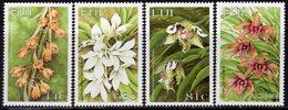 Fiji 1999 Orchids Flowers Set Of 4, MNH, SG 1050/3 (BP2) - Fiji (1970-...)