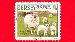 JERSEY - Usato - 2008 - Animali Della Fattoria - Pecore E Agnelli - Domestic Sheep (Ovis Ammon Aries) - Minimum - Jersey