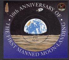Fiji 1999 30th Anniversary Of 1st Moon Landing MS, MNH, SG 1058 (BP2) - Fiji (1970-...)